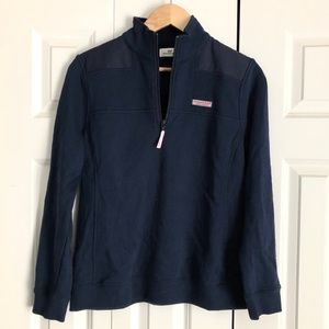 NWT Vineyard Vines Navy Blue Shep Shirt